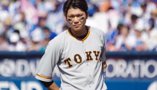 【動画】巨人・坂本勇人が骨折!何があった?一塁突き指ヘッドスライディング